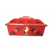 Terrine Rectangulaire - Rouge - Cigogne