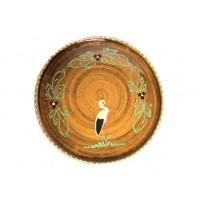 Plat pour service de la tarte - Faux Bois - Cigogne