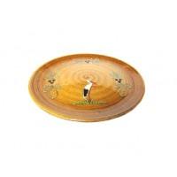 Assiette plate - Faux Bois - Cigogne