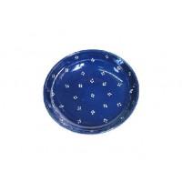 Assiette creuse - Bleu - Petits Points