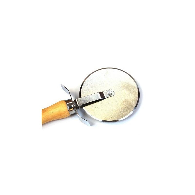 Roulette pizza de tr s bonne qualit bois et inox - Cuisine de bonne qualite ...