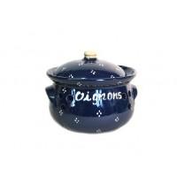 Pot à oignons - Bleu - Petits Points