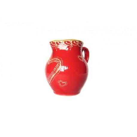 Cruche - Rouge - Coeur