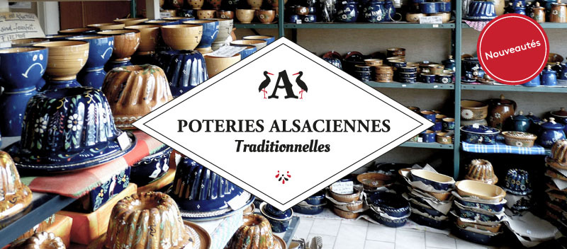 Poterie traditionnelle alsacienne